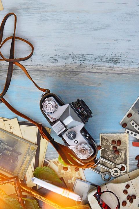 Old, Old Camera, Camera, Photo, Nostalgia, Vintage