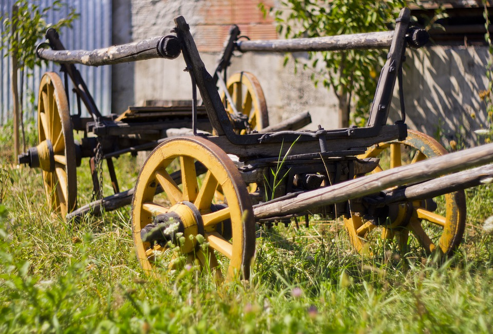 Cart, Old, Carriage, Equipment, Old Cart, Indigenous