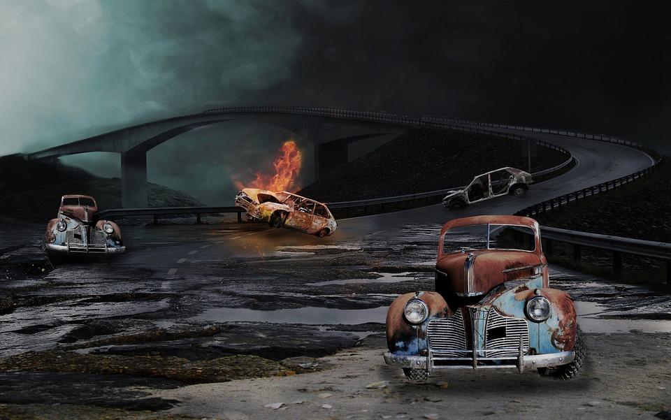 Car, Fire, Vehicle, Rescue, Oldtimer, Old, Ambulance