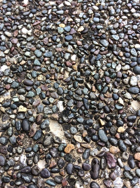 Pebbles, Old, Pattern, Stone, Floor, Texture