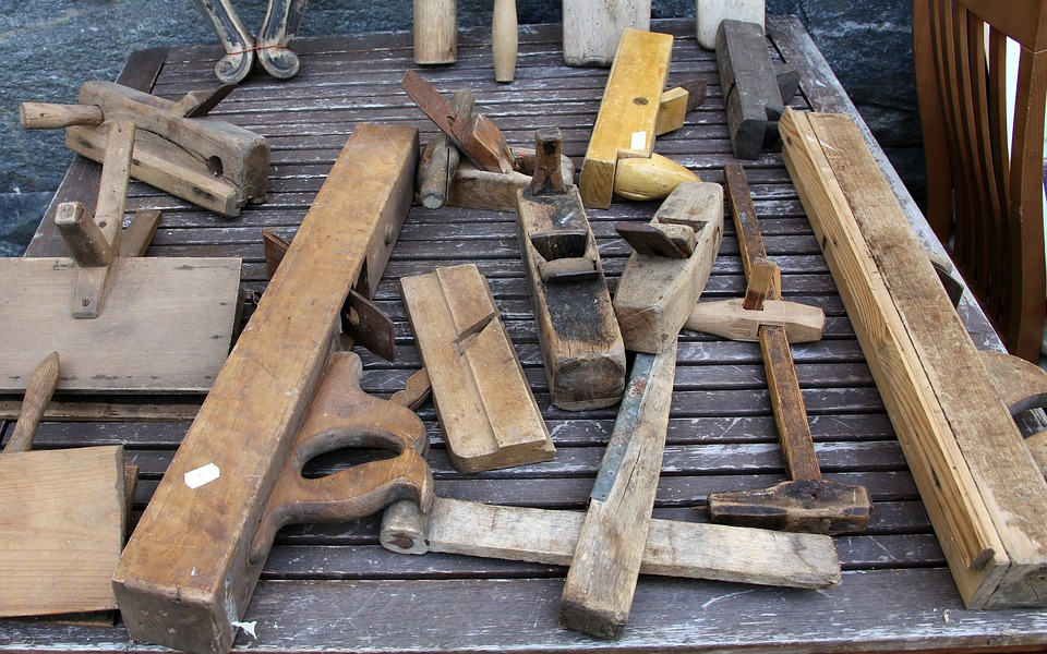 Tools, Woodwork, Antique, Old, Planers