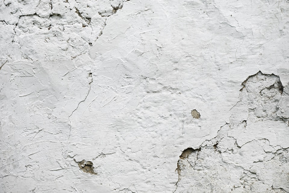 The Background, Texture, Wall, Old Plaster, White