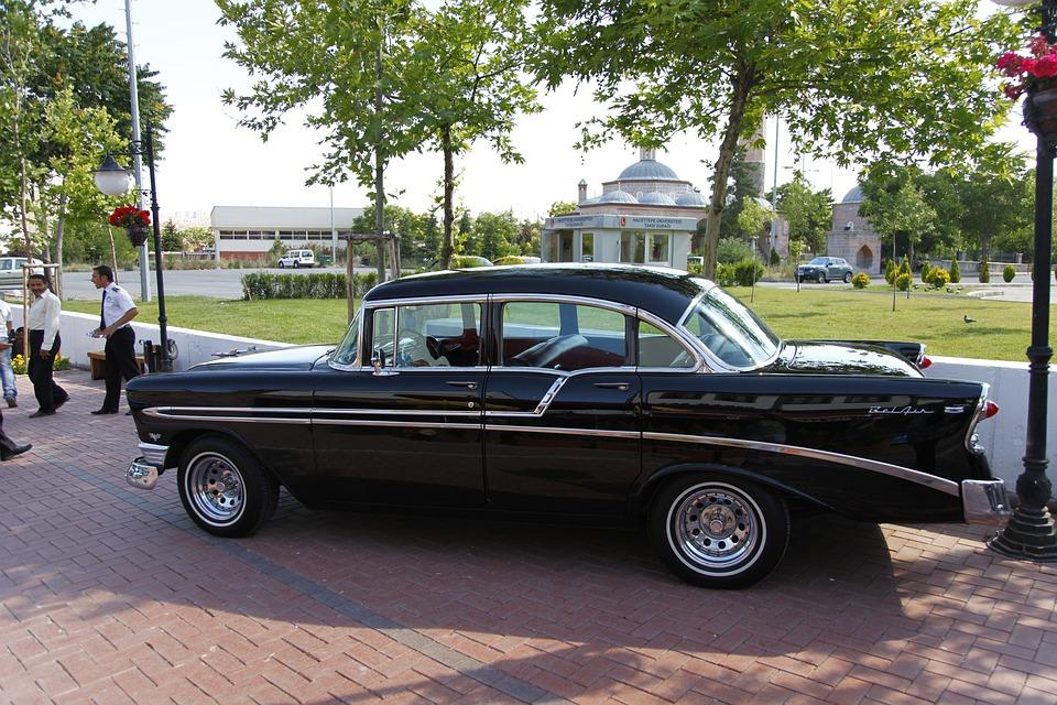 Car, Old, American Car, 1970, Pop, Classic, Cars