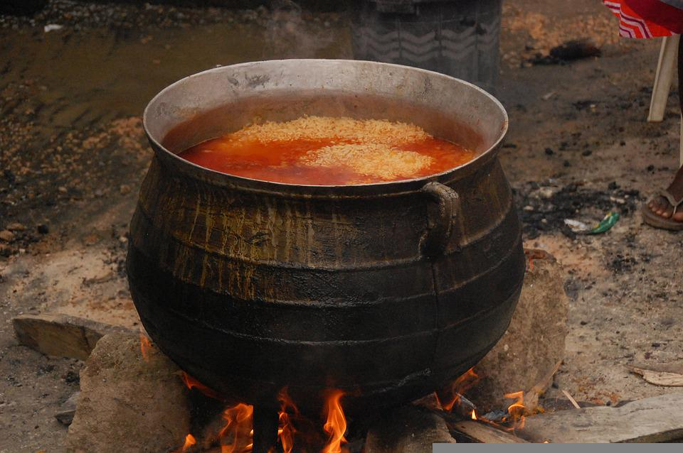 Old, Kitchen, Pot