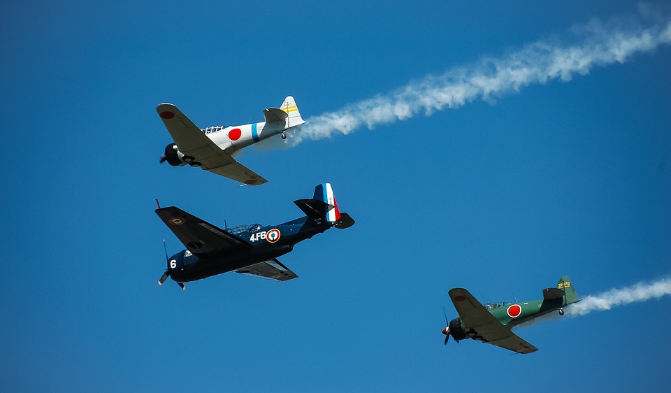 Aircraft, History, Propeller, Old, Airshow, Aviation