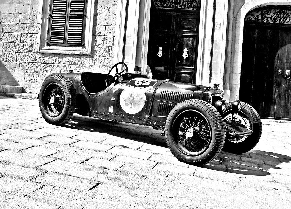 Free photo Old Racing Car Vintage Racing Car Classic Racing Car ...