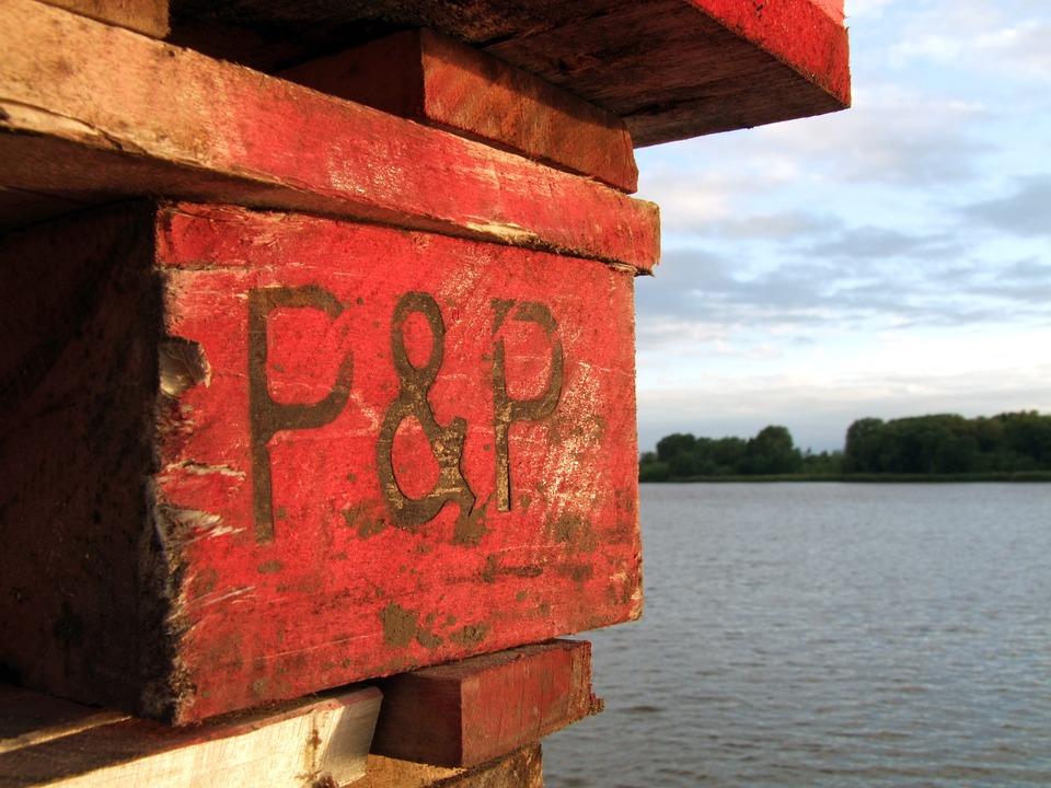Range, Red, Wood, Old, Water, River, Weser, Industry
