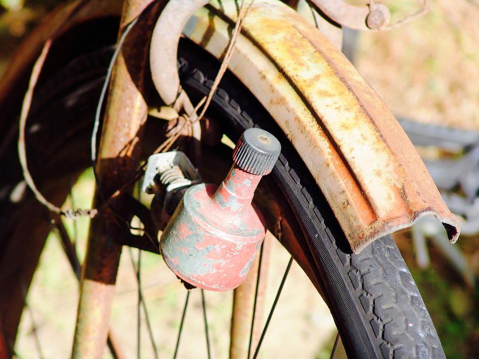 Old, Rust, Bike, Dynamo, Metal, Industrial, Industry