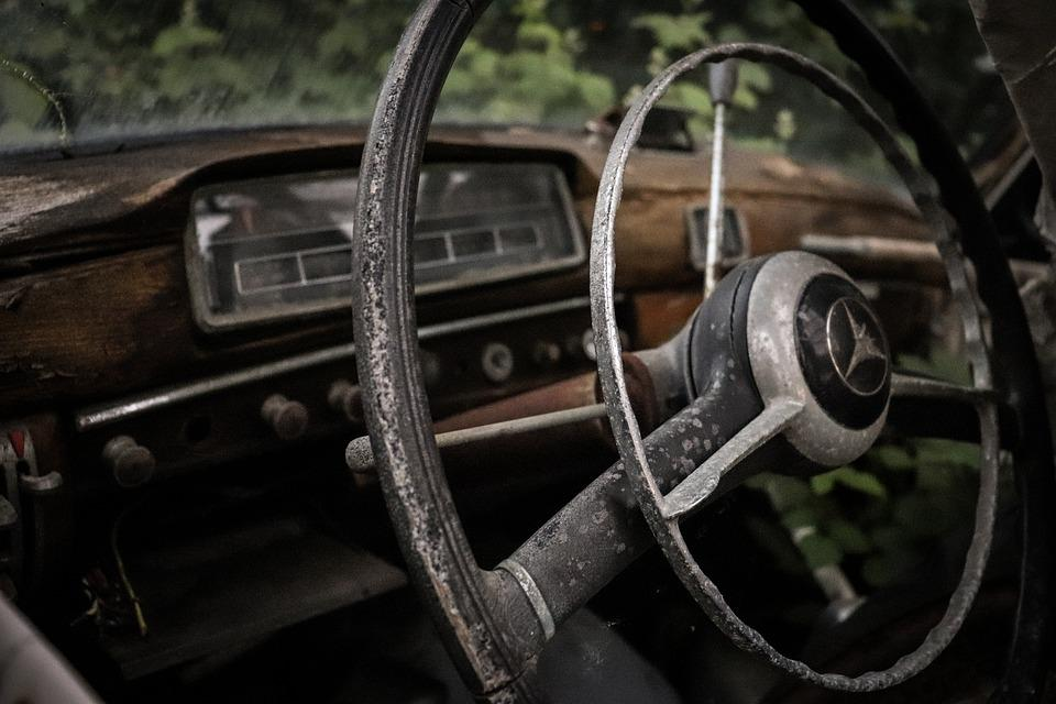 Wreck, Auto, Rust, Scrap, Oldtimer, Rusted, Old, Broken
