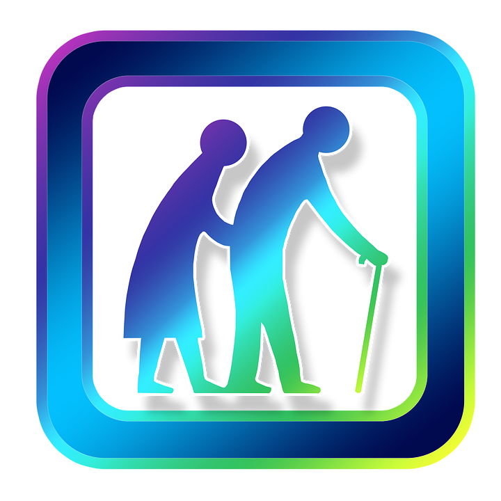 Icon, Human, Old, Seniors, Retirement Home