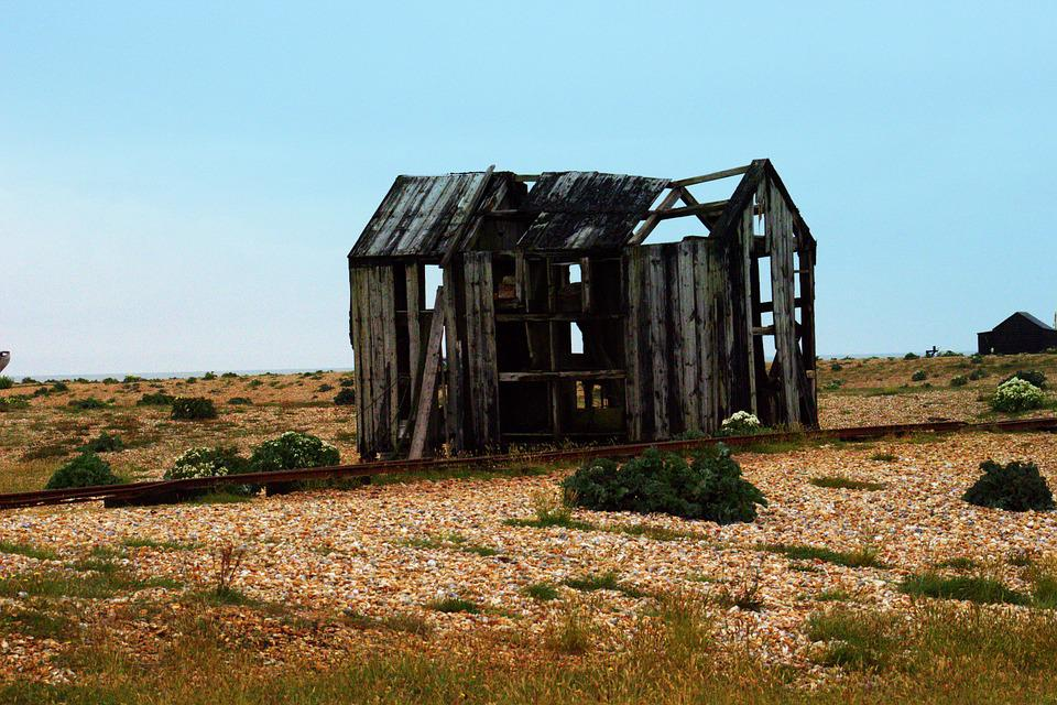 Old Shed, Abandoned, Dungeness