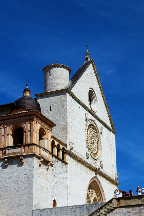 Architecture, Old, Sky, Travel, Building, Umbria