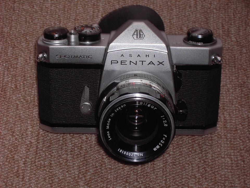 Camera, Pentax, Old, Slr, Analog, Photograph