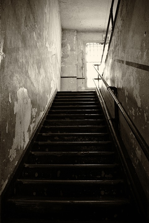Lost Places, Old, Leave, Stairs, Ruin, Break Up, Prison