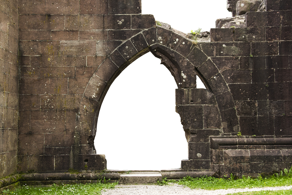 Ruins, Arch, Architecture, Old, Building, Stone