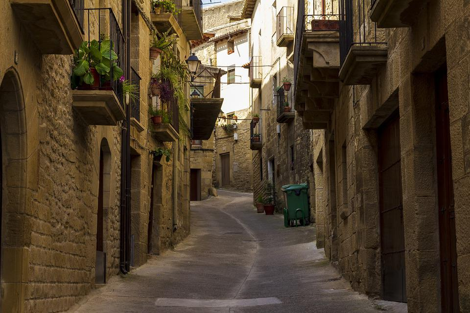 Street, People, Architecture, City, House, Housing, Old