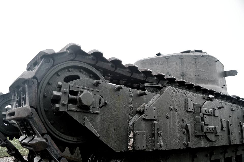 Char, Tank, Old, Second World War, Battle, Former