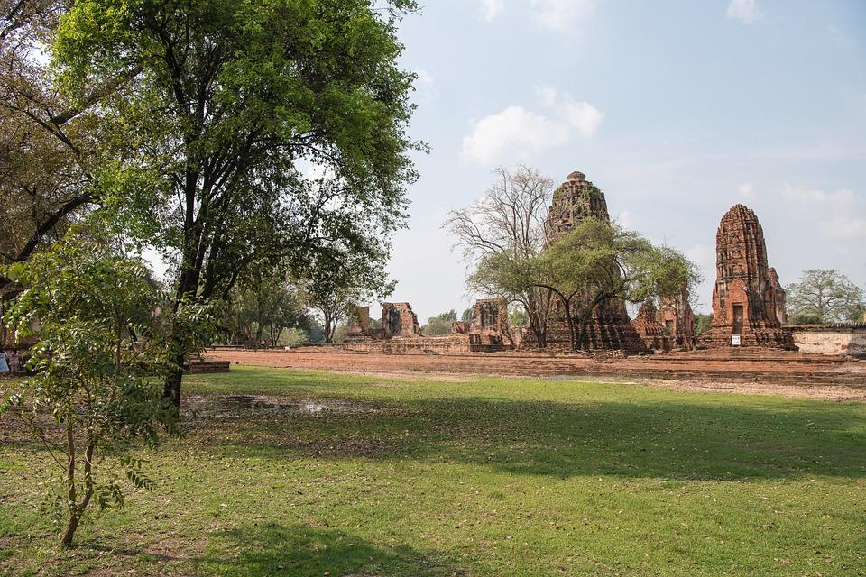 Thailand, Ayutthaya, Ruins, History, Old Temples