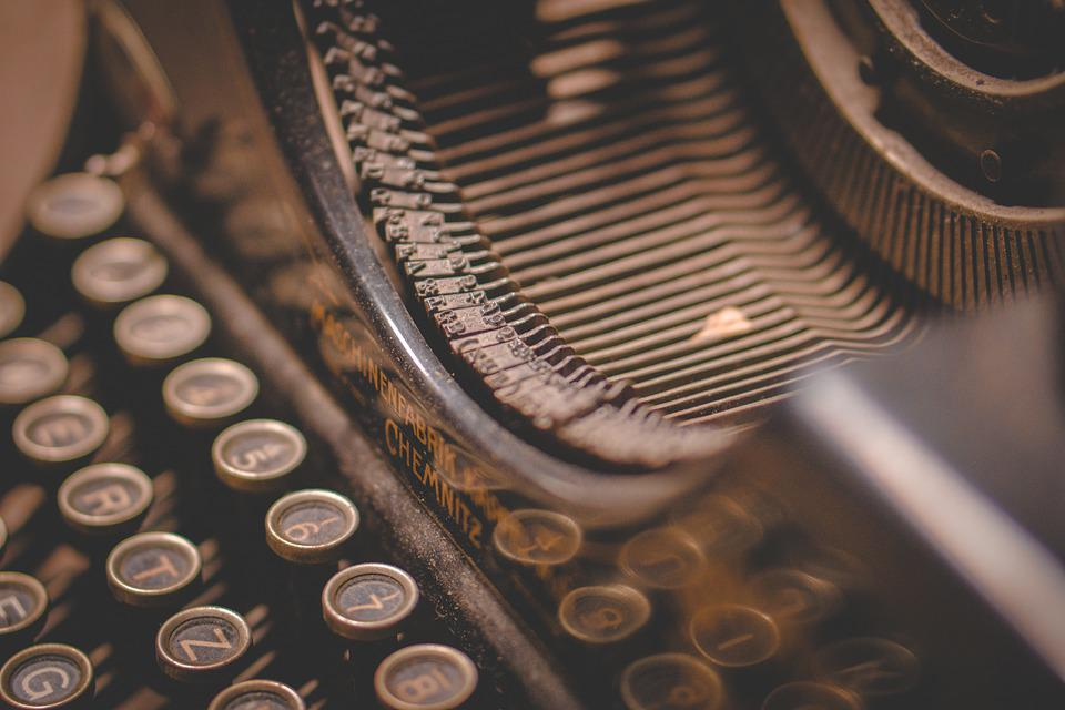Typewriter, Writing, Text, Writer, Old, Retro, Machine