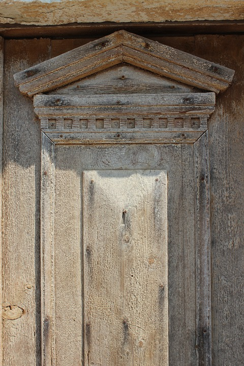 Door, Old, Greek, Vintage, Decay, Texture, Entrance