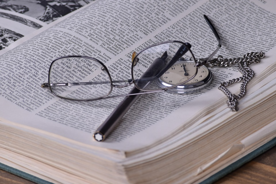 Books, Time, Write, Pen, Glasses, Book, Knowledge, Old