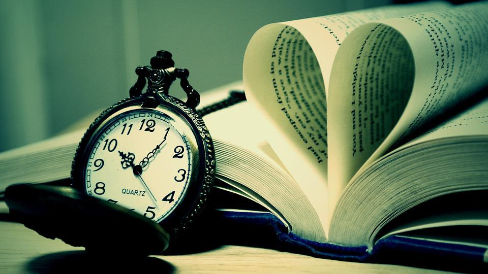 Pocket Watch, Classic, Antique, Book, Old, Time