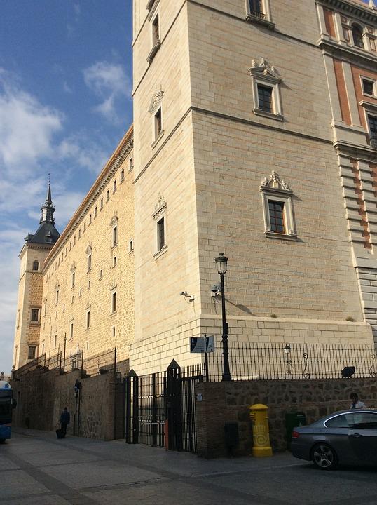 Building, History, Toledo, Old
