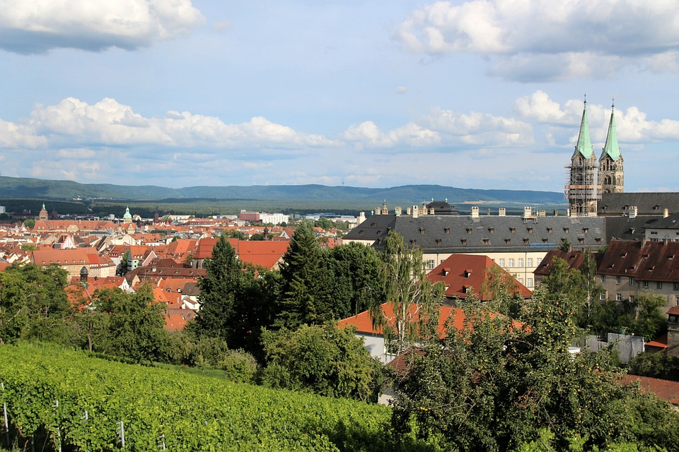 Bamberg, City View, Bavaria, Old Town, Romantic, Dom