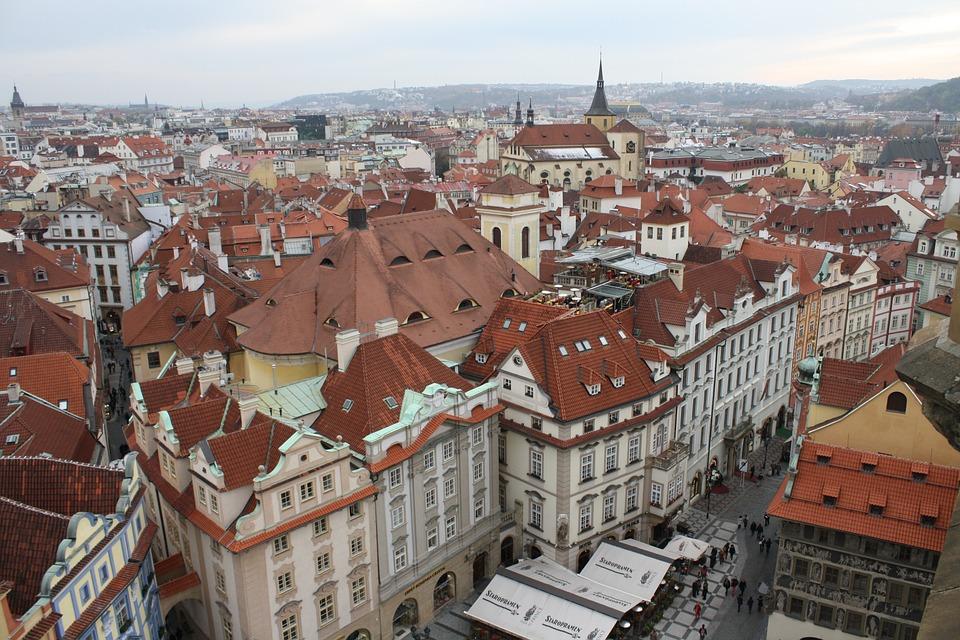Downtown, Old Town, City, Prague, Czech Republic