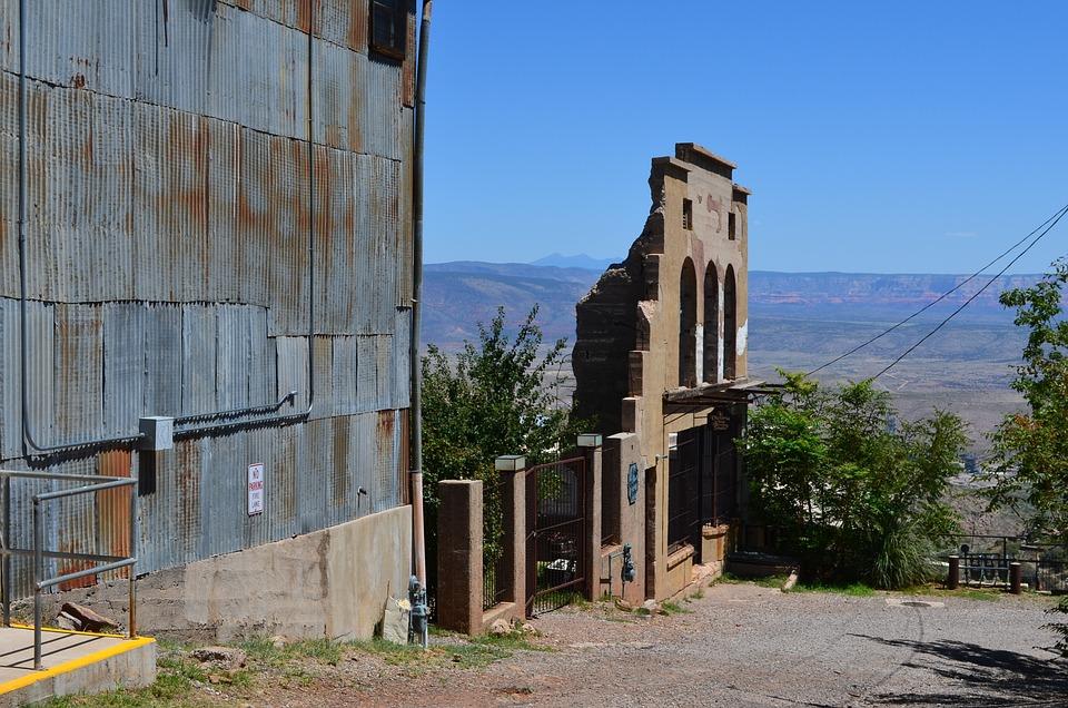 Jerome, Arizona, Town, Old, Desert, Historic