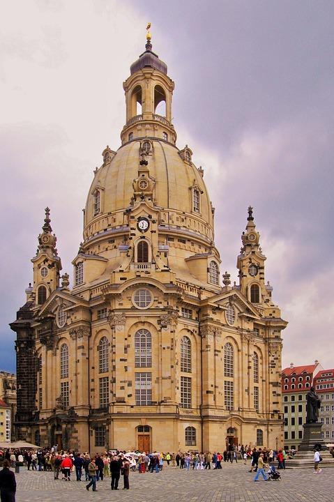 Dresden, Architecture, Old Town, Frauenkirche