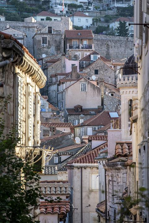 Dubrovnik, Croatia, Old Town, City, Architecture