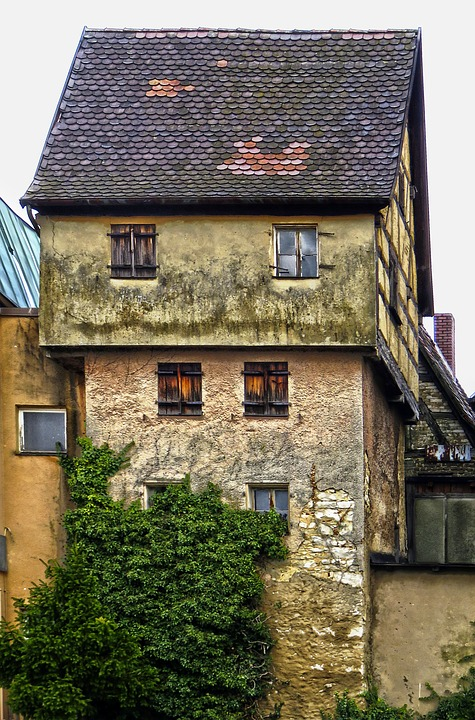 Old Town, Fachwerkhaus, Historically, Building, Roof