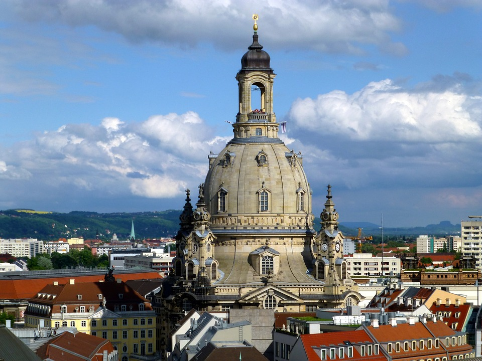 Frauenkirche, Dresden, Church, Architecture, Old Town