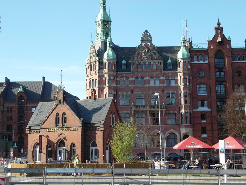 Harbour City, Hamburg, Germany, Building, Old Town