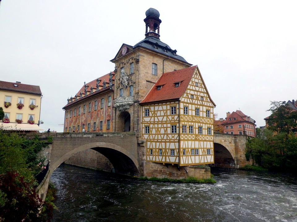 Fachwerkhaus, Old Town, Historically, River