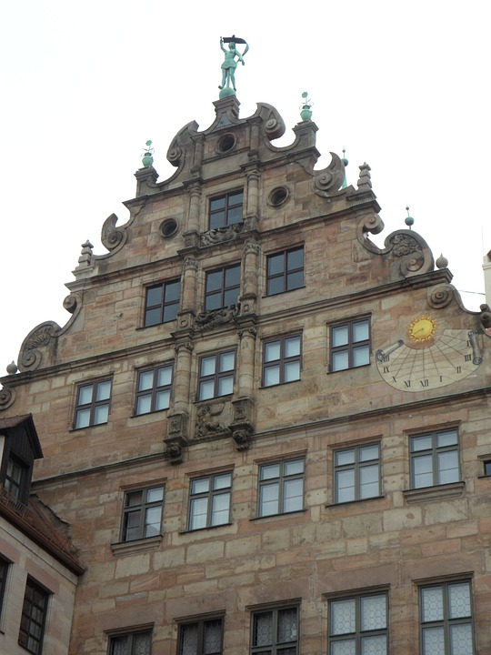 Nuremberg, Old Town, Building, Home, Facade