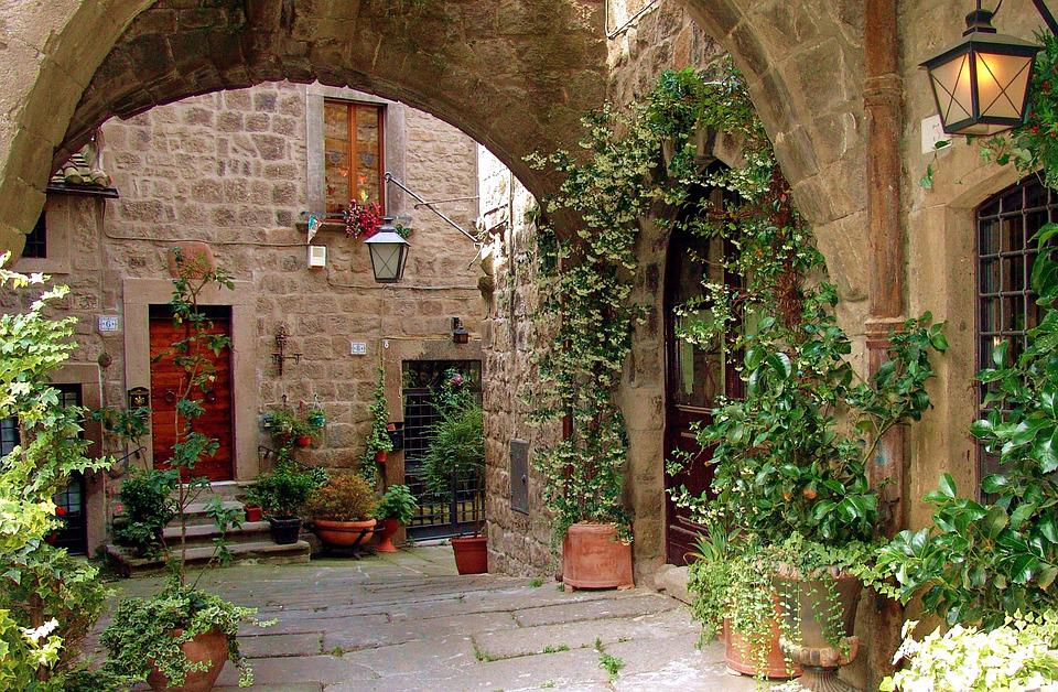 Italy, Latium, Viterbo, Places Of Interest, Old Town