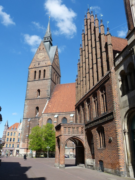 Hanover, Lower Saxony, Old Town, Architecture, Germany