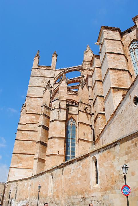 Palma, Mallorca, Cathedral, Old Town, Spain