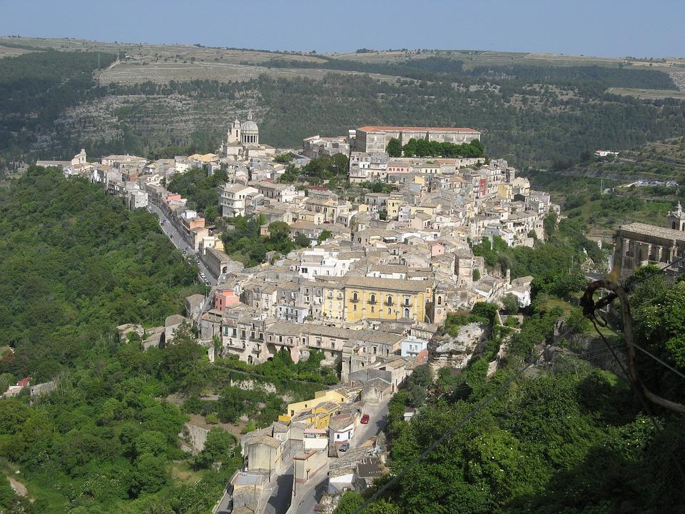 Ragusa, Landscape, Old Town