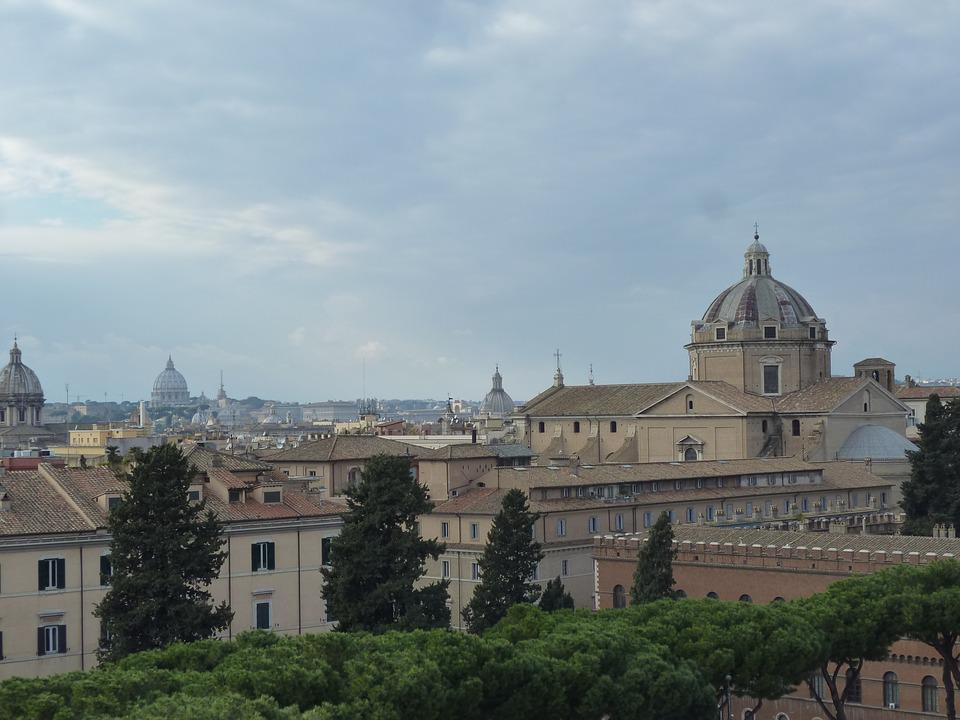 Rome, Italy, City, Old Town, City views, Holiday