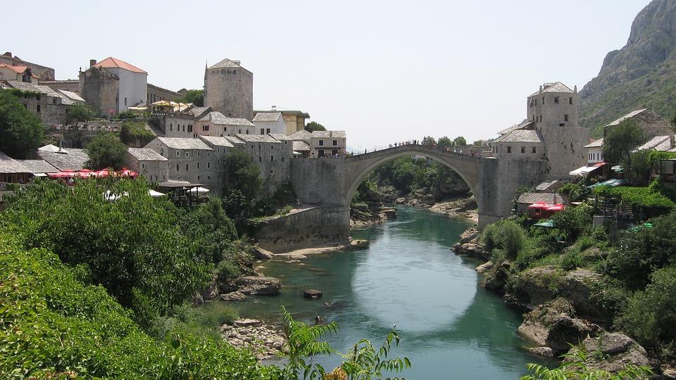 Stari Most, Bridge, Old Town, Mostar