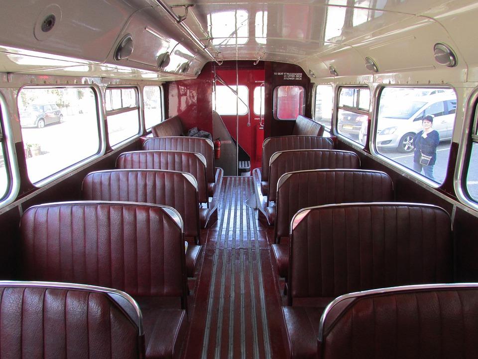 Bus, Old, Vintage, Retro, Transportation, Traditional