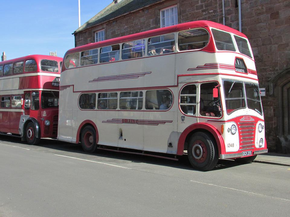 Bus, Vehicle, Old, Titan, Ribble, Transportation