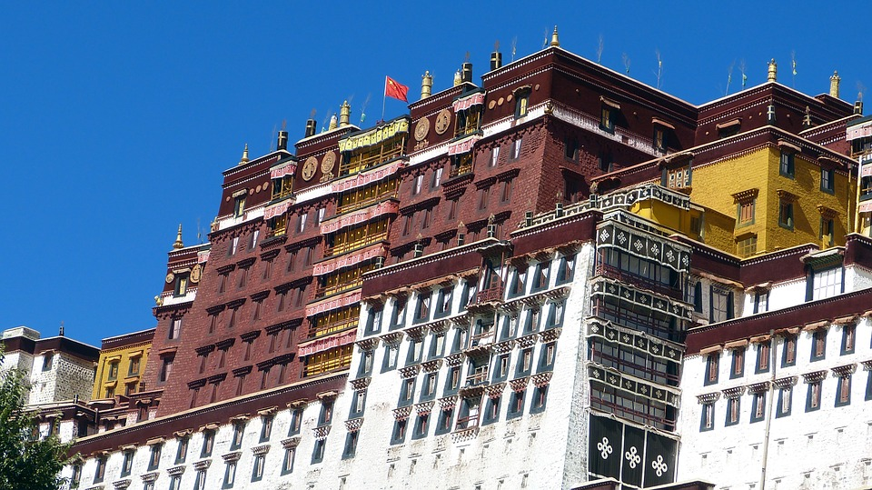 Architecture, Travel, Sky, Old, Potala Palace, Tibet