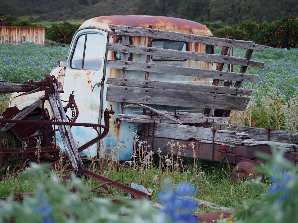 Old Truck, Rusty, Abandoned, Weathered, Old