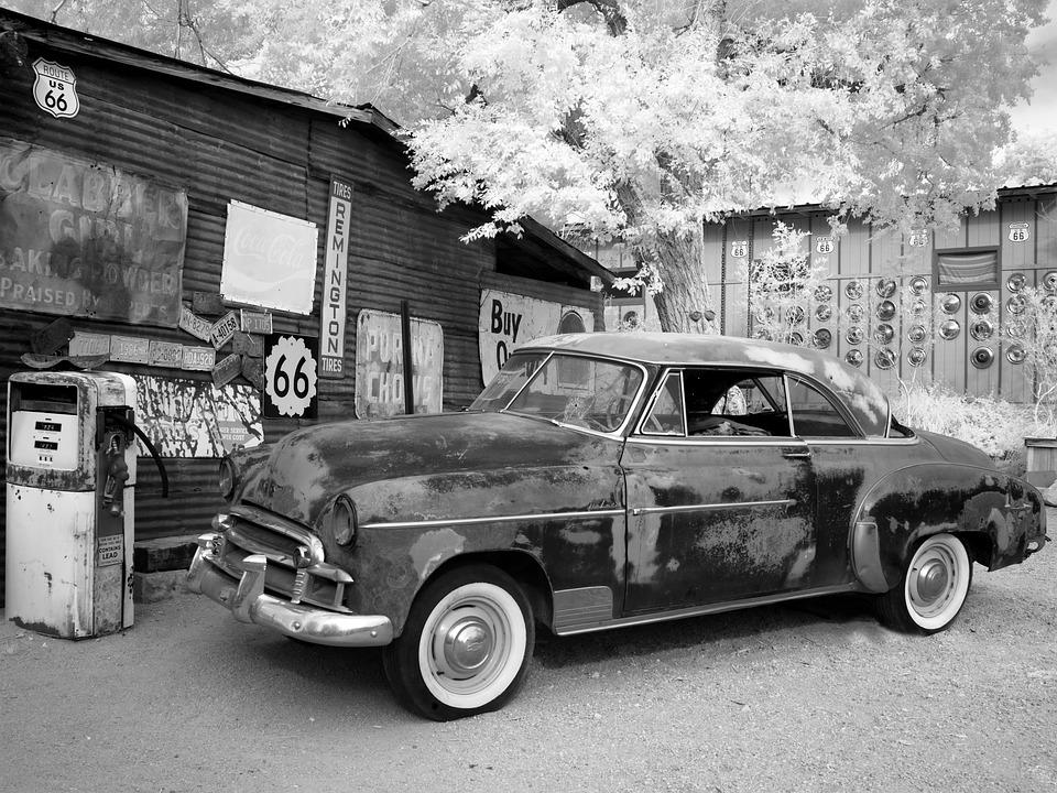 Oltimer, Auto, Crom, Old, Automotive, Usa, Cromfelgen