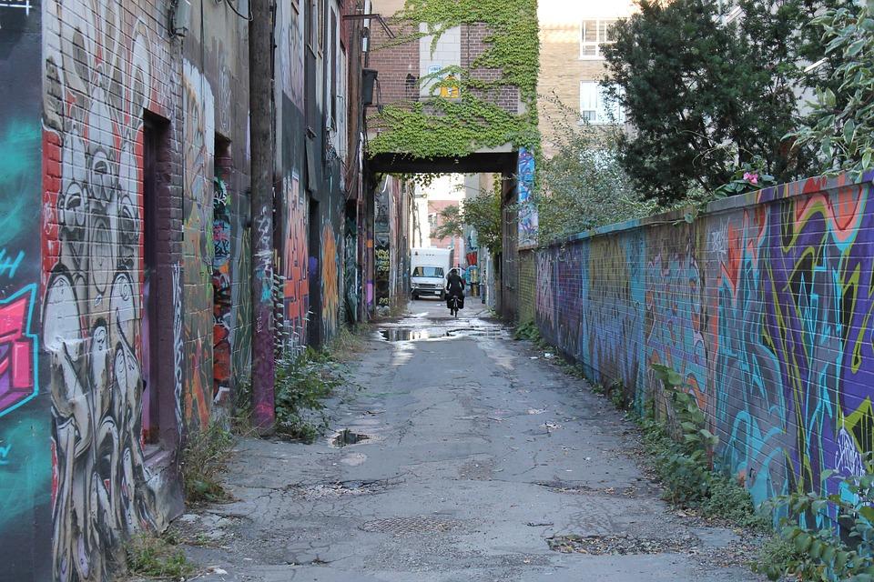 Toronto, Graffiti, City, Old, Street Art, Vandalism