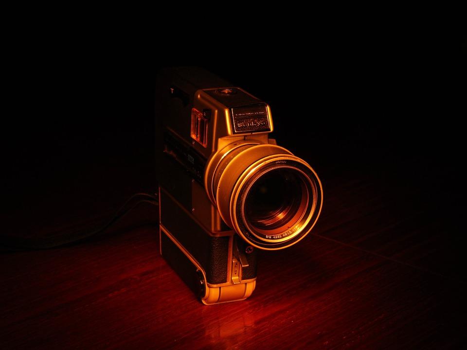 Camera, Reflex, Old, Filmadora, Vintage, Lens